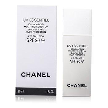 CHANEL UV Essentiel Daily UV Care Multi-Protection Anti-Pollution SPF 20 30ml/1oz