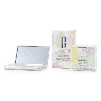 Clinique Even Better Maquillaje en Polvo SPF25 (Estuche + Repuesto) - # 62 Rose Beige (F-P)  10g/0.35oz