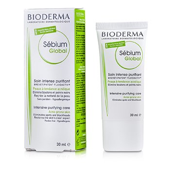 Bioderma Sebium Global Intensive Purifying Care (For Acne-Prone Skin)  30ml/1oz
