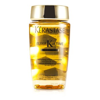 KerastaseElixir Ultime Oleo-Complexe Sublime Cleansing Oil Shampoo (For All Hair Types) 250ml/8.5oz