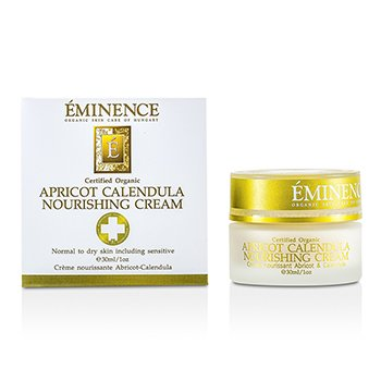 Eminence Apricot Calendula Nourishing Cream (Normal to Dry & Sensitive Skin Types)  30ml/1oz