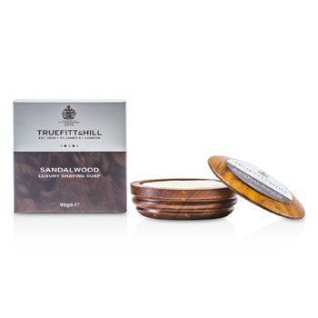 Truefitt & Hill Sandalwood Luxury Shaving Soap (In Wooden Bowl)  99g/3.3oz