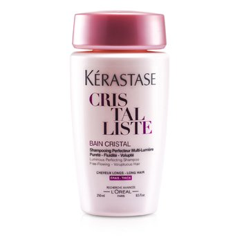 Kerastase Cristalliste Bain Cristal Luminous Perfecting Shampoo (For Thick, Voluptuous Hair)  250ml/8.5oz
