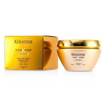KerastaseElixir Ultime Oleo-Complexe Beautifying Oil Masque (For All Hair Types) 200ml/6.8oz