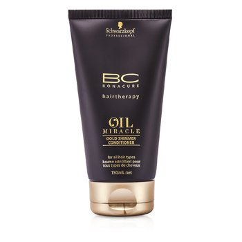 SchwarzkopfBC Oil Miracle Gold Shimmer Conditioner (For All Hair Types) 150ml/5oz