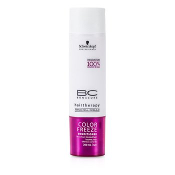 Schwarzkopf BC Color Freeze Conditioner (For Colour-Treated Hair) 200ml/6.7oz
