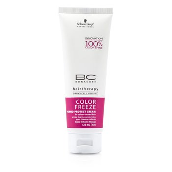 Bonacure Color FreezeBC Color Freeze Thermo-Protect Cream (For Colour-Treated Hair) 125ml/4.2oz