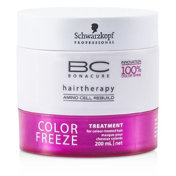 SchwarzkopfBC Color Freeze hoito (v�rik�sitellyille hiuksille) 200ml/6.7oz