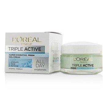 L'Oreal������������������������ Triple Active Fresh (����Ѻ��Ǹ����� & ��Ǽ��) 50ml/1.7oz
