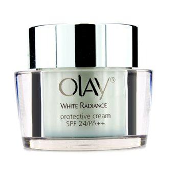 OlayWhite Radiance Protective Cream SPF24 PA++ (Unboxed) 50g/1.7oz