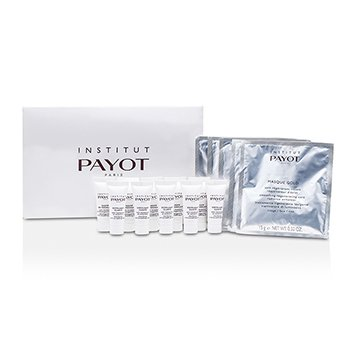 Payot Parfaite Experience Coffret: Smoothing Revitalising Radiance Activating Mask 15g/0.52oz + Facial Cleansing Scrub 10ml/0.33oz + Modelling Decongesting Balm 10ml/0.33oz (Box Slightly Damaged)  15pcs