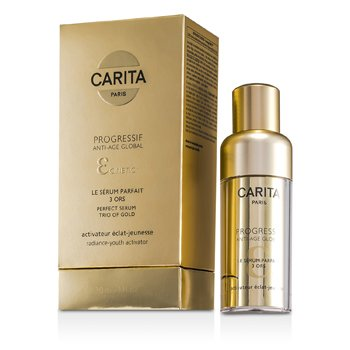 CaritaProgressif Suero Anti Edad Global Perfecto Trio de Oro 30ml/1oz