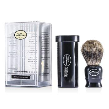 The Art Of ShavingTravel Pure Badger - Black 1pc