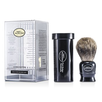 The Art Of Shaving Travel Pure Badger – Black 1pc