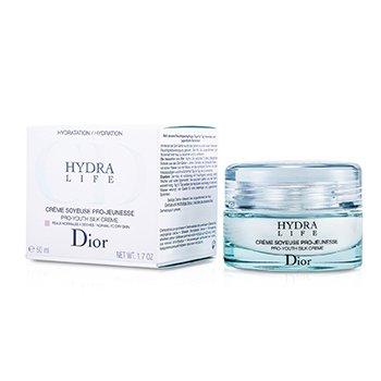Christian Dior Hydra Life Crema Seda Pro Juventud (Para Piel Normal a Seca)  50ml/1.7oz