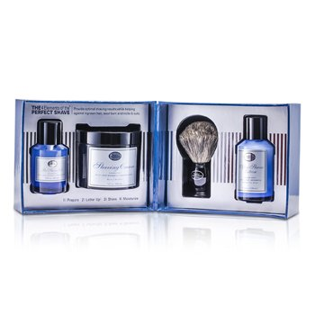 The Art Of ShavingThe 4 Elements Of The Perfect Shave - Ocean Kelp (Pre Shave Gel+ Shave Crm+ A/S Lotion+ Brush) 4pcs
