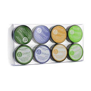 EShaveAssorted Mini Kit: 4x Shave Cream + 1x After Shave Cream + 3x After Shave Soother 8pcs