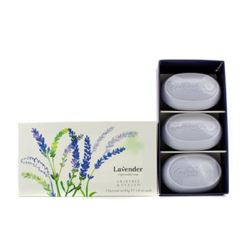 Crabtree & EvelynLavender Triple Milled Soap 3x85g/3oz