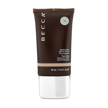 Becca Matte Skin Shine Proof Foundation - # Tan  40ml/1.35oz