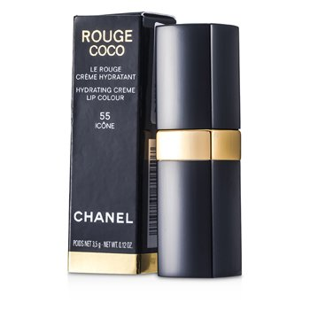 Chanel Rouge Coco Hydrating Creme Lip Colour - # 55 Icone 3.5g/0.12oz at StrawberryNET.com - Skincare-Makeup-Cosmetics-Fragrance