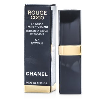 Chanel Rouge Coco Hydrating Creme Lip Colour - # 57 Mystique 3.5g/0.12oz at StrawberryNET.com - Skincare-Makeup-Cosmetics-Fragrance