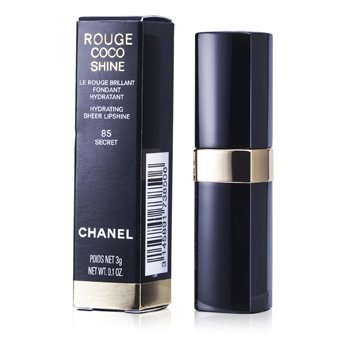 Chanel Rouge Coco Shine Hydrating Sheer Lipshine - # 85 Secret 3g/0.01oz at StrawberryNET.com - Skincare-Makeup-Cosmetics-Fragrance