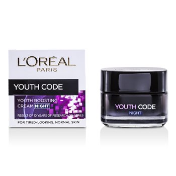 L'OrealYouth Code Youth Boosting Cream (Night) (For Normal Skin) 50ml/1.7oz
