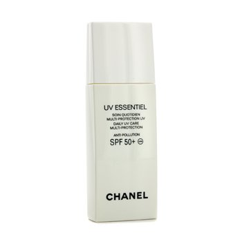 Chanel UV Essentiel Daily UV Care Multi-Protection Anti-Pollution SPF 50+ 30ml/1oz at StrawberryNET.com - Skincare-Makeup-Cosmetics-Fragrance