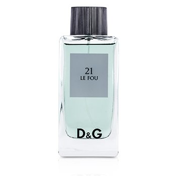 Dolce & Gabbana D&G Anthology 21 Le Fou Eau De Toilette Spray (Unboxed) 100ml/3.3oz