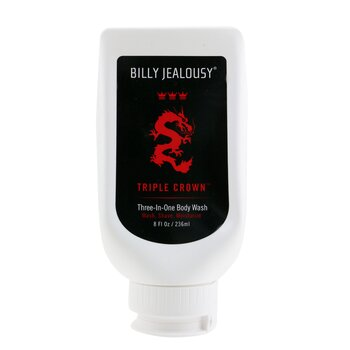 Billy Jealousy Triple Crown Jab�n Corporal 3 En 1  236ml/8oz