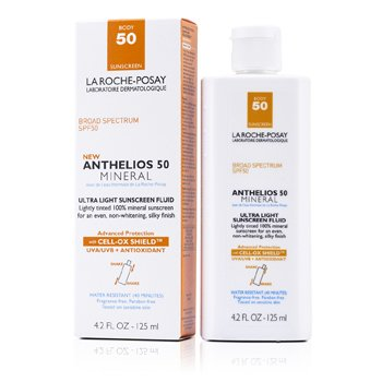 La Roche PosayNew Anthelios 50 Mineral Ultra Light Sunscreen Fluid For Body 125ml/4.2oz