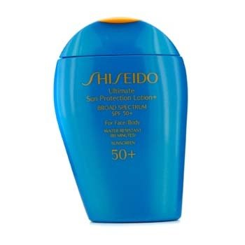 ShiseidoUltimate Sun Protection Face & Body Lotion SPF 50+ 100ml/3.3oz