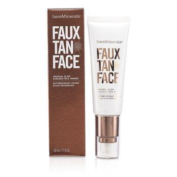 Cuidado Solar - FaceBare Minerals Faux Tan Face Bronceador Facial Brillo Gradual Sin Sol 50ml/1.7oz