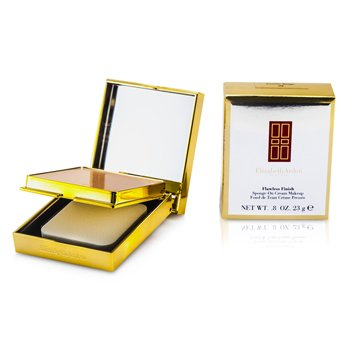 Elizabeth Arden Maquillaje en Crema con Esponja Acabado Perfecto (Estuche Dorado) - 02 Gentle Beige  23g/0.08oz