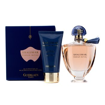 GuerlainShalimar Parfum Intitial Coffret: Eau De Parfum Spray 100ml/3.3oz + Body Lotion 75ml/2.5oz 2pcs