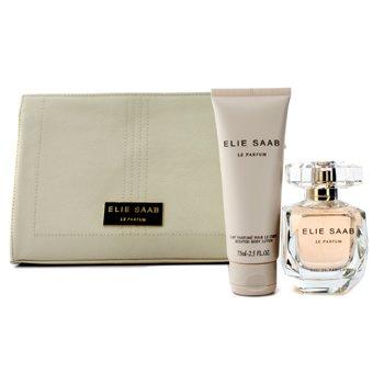 Le ParfumLe Parfum Coffret: Eau De Parfum Spray 50ml/1.6oz + Body Lotion 75ml/2.5oz + Pouch 2pcs+1pouch