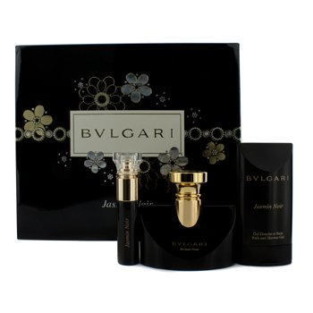 BvlgariJasmin Noir Coffret: Eau De Parfum Spray 50ml/1.7oz + Eau De Parfum Spray 10ml/0.34oz + Shower Gel 75ml/2.5oz 3pcs