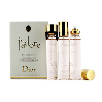 Christian DiorJ'Adore Eau De Toilette Purse Spray Repuestos 3x20ml/0.67oz