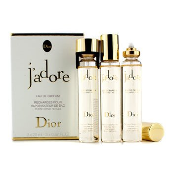 Christian DiorJ'Adore Eau De Parfum Purse Spray Repuestos 3x20ml/0.67oz