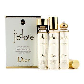Christian Dior J'Adore Eau De Parfum Purse Spray Refills  3x20ml/0.67oz