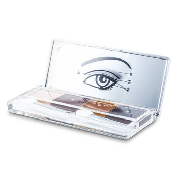 Clinique Sombra de Ojos Cu�druple - # 03 Morning Java  4x1.2g/0.04oz