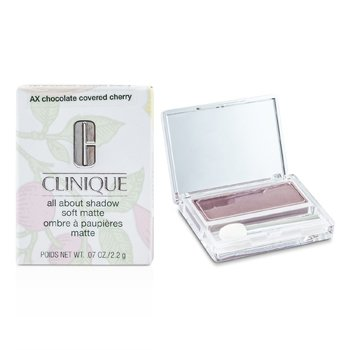 Clinique All About Shadow – # AX Chocolate Covered Cherry (Soft Matte) 2.2g/0.07oz