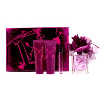 Vera WangLoverstruck Coffret: Eau De Parfum Spray 100ml/3.4oz + Body Lotion 75ml/2.5oz + Shower Gel 75ml/2.5oz + Rollerball 10ml/0.35oz 4pcs
