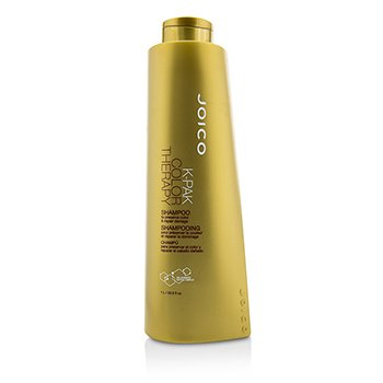 Joico K-Pak Color Therapy Shampoo - To Preserve Color & Repair Damage (New Packaging)  1000ml/33.8oz