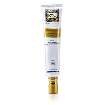 ROC Retinol Correxion Deep Wrinkle Daily Moisturizer With Sunscreen Broad Spectrum SPF 30 30ml/1oz