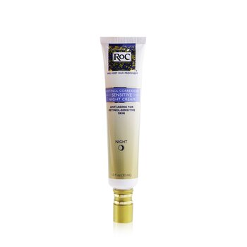 ROC Retinol Correxion Sensitive Night Cream (Sensitive Skin)  30ml/1oz