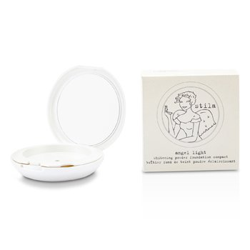 StilaAngel Light Whitening Powder Foundation Compact Case - Pearl