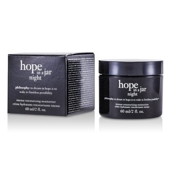 PhilosophyHope In a Jar Night Intense Retexturizing Moisturizer 60ml/2oz
