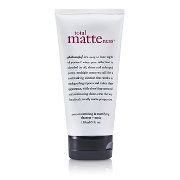 PhilosophyTotal Matteness Pore-Minimizing & Mattifying Cleanser + Mask 150ml/5oz