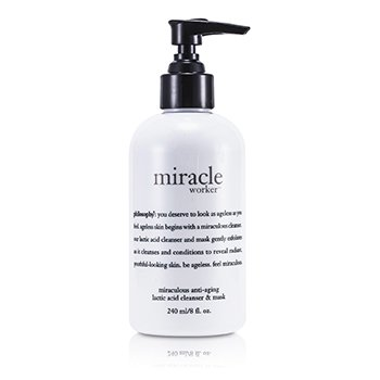 PhilosophyMiracle Worker Miraculous Anti-Aging Lactic Acid Cleanser & Mask 240ml/8oz